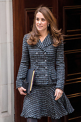 The Duchess of Cambridge (Catherine, Kate Middleton) attend The Royal Foundation's 'Mental Health in Education' conference. 13 Feb 2019 Pictured: The Duchess of Cambridge (Catherine, Kate Middleton) attend The Royal Foundation's 'Mental Health in Education' conference. Photo credit: MEGA TheMegaAgency.com +1 888 505 6342