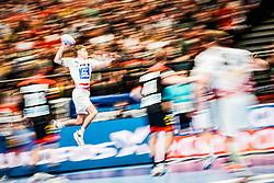 20.01.2020, Wiener Stadthalle, Wien, AUT, EHF Euro 2020, Oesterreich vs Deutschland, Hauptrunde, Gruppe I, im Bild Sebastian Frimmel (AUT) // Sebastian Frimmel (AUT) during the EHF 2020 European Handball Championship, main round group I match between Austria and Germany at the Wiener Stadthalle in Wien, Austria on 2020/01/20. EXPA Pictures © 2020, PhotoCredit: EXPA/ Florian Schroetter