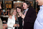 BARONESS HELENA KENNEDY;; JESSIE BUCKLEY; JAY RAYNER, Massimo's restaurant at the Corinthia Hotel, Whitehall  host the after party  for 'Claire Rayner's benefit show' 5 June 2011. <br /> <br />  , -DO NOT ARCHIVE-© Copyright Photograph by Dafydd Jones. 248 Clapham Rd. London SW9 0PZ. Tel 0207 820 0771. www.dafjones.com.