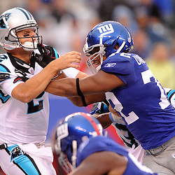 2010 NFL Football - Giants 31, Panthers 18