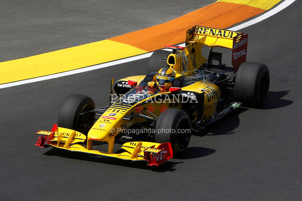 Motorsports / Formula 1: World Championship 2010, GP of Europe, 11 Robert Kubica (POL, Renault F1 Team),