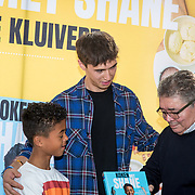 NLD/Muiden/20180325 - Boekpresentatie koken met Shane Kluivert, Nino Wilkes, en Shane en opa Lima