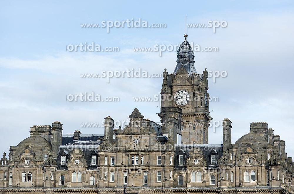 THEMENBILD - Balmoral Hotel. Schottlands Hauptstadt Edinburgh ist die zweitgrößte Stadt Schottlands. Aufgenommen am 27.10.2014 in Edinburgh, Schottland // The Balmoral Hotel. Edinburgh, capital city of scotland. Edinburgh, Scotland on 2014/10/27. EXPA Pictures © 2014, PhotoCredit: EXPA/ Michael Gruber