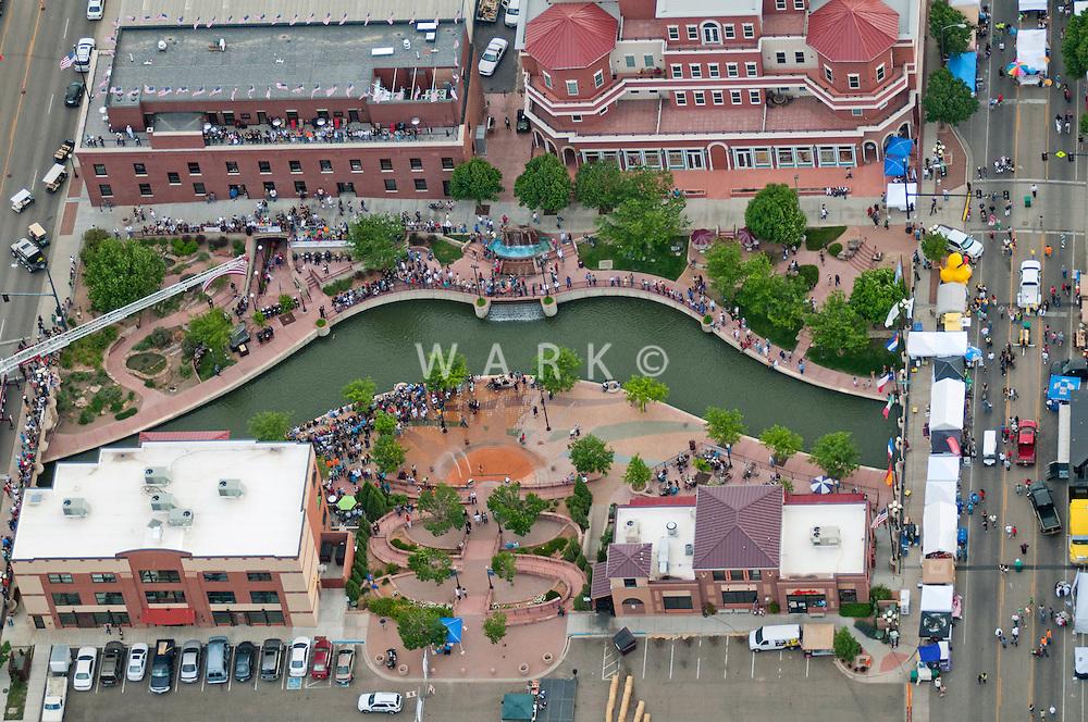 Pueblo, Colorado. May 2012.  Wild Wild West Fest