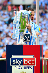 Marc McNulty of Coventry City with the Sky Bet League Two play-off final - Mandatory by-line: Dougie Allward/JMP - 28/05/2018 - FOOTBALL - Wembley Stadium - London, England - Coventry City v Exeter City - Sky Bet League Two Play-off Final