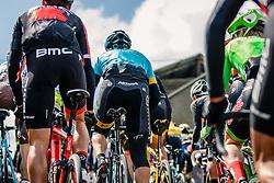 Peloton with rider of Astana Pro Team during the UCI WorldTour 103rd Liège-Bastogne-Liège from Liège to Ans with 258 km of racing at Cote de Saint-Roch, Belgium, 23 April 2017. Photo by Pim Nijland / PelotonPhotos.com | All photos usage must carry mandatory copyright credit (Peloton Photos | Pim Nijland)