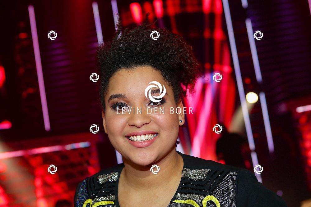HILVERSUM - In studio 22 is de eerste liveshow van The Voice of Holland gehouden. Met hier op de foto  Julia van der Toorn. FOTO LEVIN DEN BOER - PERSFOTO.NU