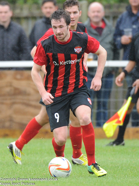 Ross Oulton, Kettering, Kettering Town v Daventry Town Southern League Division One Central, 25th August 2014