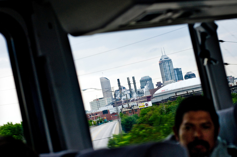 Greyhound Trip..View from bus window. Downtown Charleston.Photographer: Chris Maluszynski /MOMENT