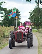 Ladies Tractor Run 2017