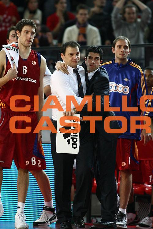 DESCRIZIONE : Roma Eurolega 2008-09 Lottomatica Virtus Roma Union Olimpija Lubiana<br /> GIOCATORE : Nando Gentile Antimo Martino Angelo Gigli<br /> SQUADRA : Lottomatica Virtus Roma<br /> EVENTO : Eurolega 2008-2009<br /> GARA : Lottomatica Virtus Roma Union Olimpija Lubiana<br /> DATA : 18/12/2008 <br /> CATEGORIA : esultanza<br /> SPORT : Pallacanestro <br /> AUTORE : Agenzia Ciamillo-Castoria/E.Castoria<br /> Galleria : Eurolega 2008-2009 <br /> Fotonotizia : Roma Eurolega Euroleague 2008-09 Lottomatica Virtus Roma Union Olimpija Lubiana<br /> Predefinita :