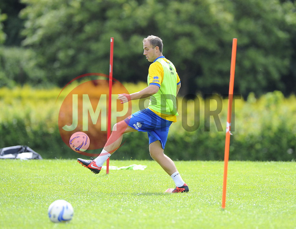 Bristol Rovers' Mark McChrystal - Photo mandatory by-line: Joe Meredith/JMP - Tel: Mobile: 07966 386802 24/06/2013 - SPORT - FOOTBALL - Bristol -  Bristol Rovers - Pre Season Training - Npower League Two