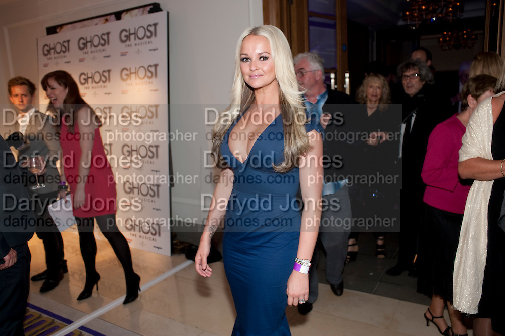 Jennifer Ellison, Piccadilly theatre's Ghost The Musical Opening night party. Corinthia Hotel. Whitehall Place. London. 19 July 2011. <br /> <br />  , -DO NOT ARCHIVE-&copy; Copyright Photograph by Dafydd Jones. 248 Clapham Rd. London SW9 0PZ. Tel 0207 820 0771. www.dafjones.com.