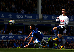 Christian Eriksen of Tottenham Hotspur shoots at goal - Mandatory by-line: Robbie Stephenson/JMP - 09/09/2017 - FOOTBALL - Goodison Park - Liverpool, England - Everton v Tottenham Hotspur - Premier League