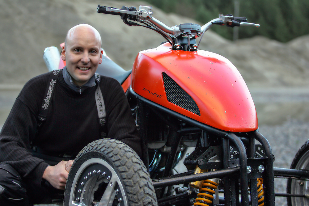 Geir Brudeli with his Brudeli 625L prototype.