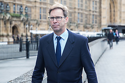 London, UK. 16 December, 2019. Tobias Ellwood, Conservative MP for Bournemouth East, arrives at the Palace of Westminster as Parliament resumes following the general election.