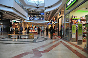Israel, Tel Aviv, interior of the Azrieli shopping mall