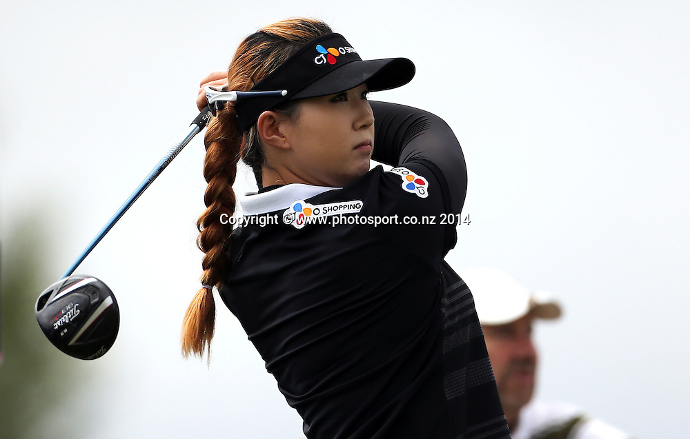 NZ women's golf open at Clearwater resort.<br /> Day 2.<br /> Kyu Jung Baek (Korea)