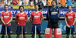 DEN HAAG - Rabobank Hockey World Cup<br /> 08 Korea - New Zealand<br /> Foto: team England.<br /> COPYRIGHT FRANK UIJLENBROEK FFU PRESS AGENCY