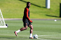 Kelechi Iheanacho of Manchester City trains  - Mandatory by-line: Matt McNulty/JMP - 23/08/2016 - FOOTBALL - Manchester City - Training session ahead of Champions League qualifier against Steaua Bucharest