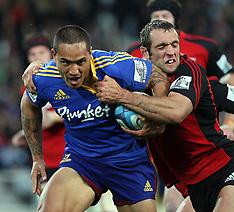 Dunedin-Rugby, Super15, Highlanders v Crusaders