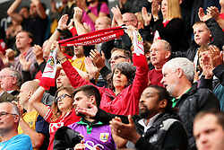 Bristol City fans - Mandatory by-line: Matt McNulty/JMP - 10/09/2016 - FOOTBALL - Aesseal New York Stadium - Rotherham, England - Rotherham United v Bristol City - Sky Bet Championship