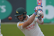 Riki Wessels watches the ball during the Specsavers County Champ Div 1 match between Nottinghamshire County Cricket Club and Durham County Cricket Club at Trent Bridge, West Bridgford, United Kingdom on 29 May 2016. Photo by Simon Trafford.
