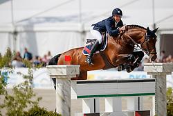 STÜHLMEYER Patrick (GER), Chacgrano<br /> Hagen - Horses and Dreams meets the Royal Kingdom of Jordan 2018<br /> Grosser Preis der DKB Qualifikation DKB-Riders Tour<br /> 30 April 2018<br /> www.sportfotos-lafrentz.de/Stefan Lafrentz