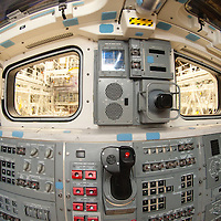 Space Shuttle Endeavour (OV-105) Aft Flight Deck Windows.