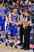 DESCRIZIONE : Campionato 2014/15 Serie A Beko Dinamo Banco di Sardegna Sassari - Acqua Vitasnella Cantu'<br /> GIOCATORE : Stefano Gentile<br /> CATEGORIA : Fair Play Before Pregame<br /> SQUADRA : Acqua Vitasnella Cantu'<br /> EVENTO : LegaBasket Serie A Beko 2014/2015<br /> GARA : Dinamo Banco di Sardegna Sassari - Acqua Vitasnella Cantu'<br /> DATA : 28/02/2015<br /> SPORT : Pallacanestro <br /> AUTORE : Agenzia Ciamillo-Castoria/L.Canu<br /> Galleria : LegaBasket Serie A Beko 2014/2015