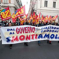 No al governo Monti