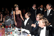 DAVID WALLIAMS; SIR ELTON JOHN; THEO FENNELL, Grey Goose Winter Ball to Benefit the Elton John AIDS Foundation. Battersea park. London. 29 October 2011. <br /> <br />  , -DO NOT ARCHIVE-© Copyright Photograph by Dafydd Jones. 248 Clapham Rd. London SW9 0PZ. Tel 0207 820 0771. www.dafjones.com.
