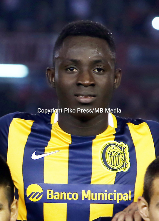 CAMPEONATO ARGENTINO Soccer / Football. <br /> ROSARIO CENTRAL  - Portraits <br /> Bs.As. Argentina. - May 31, 2015<br /> Here Rosario Central player Yeimar Gomez<br /> &copy; PikoPress