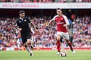 Arsenal midfielder Mesut Ozil (11) during the Emirates Cup 2017 match between Arsenal and Sevilla at the Emirates Stadium, London, England on 30 July 2017. Photo by Sebastian Frej.