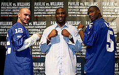 September 29, 2009: Kelly Pavlik vs Paul Williams Press Conference