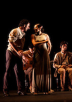 Paco Peña spanish flamenco with his show Patrias, explores through music the emotional, physical and cultural impact of war on Spain country's history . Pako Mera 14/04/2014