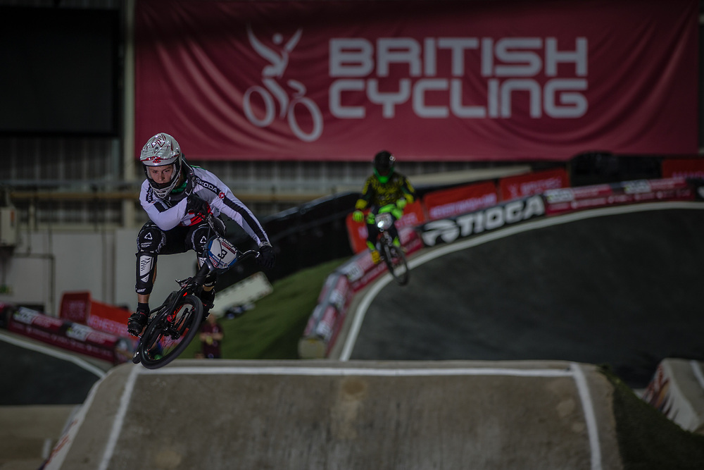 #3 (GRAF David) SUI at the 2016 UCI BMX Supercross World Cup in Manchester, United Kingdom<br /> <br /> A high res version of this image can be purchased for editorial, advertising and social media use on CraigDutton.com<br /> <br /> http://www.craigdutton.com/library/index.php?module=media&pId=100&category=gallery/cycling/bmx/SXWC_Manchester_2016