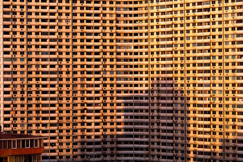 High-rise public apartment building in Havana, Cuba. Material World Project.