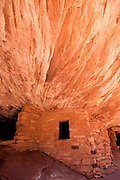 House on Fire Indian Ruin in Mule Canyon, Utah. Missoula Photographer