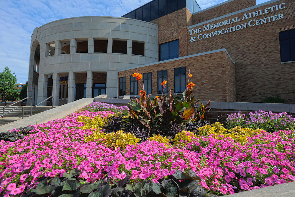 The Memorial Athletic and Convocation Center on the campus of Kent State University is home to many KSU sports teams.