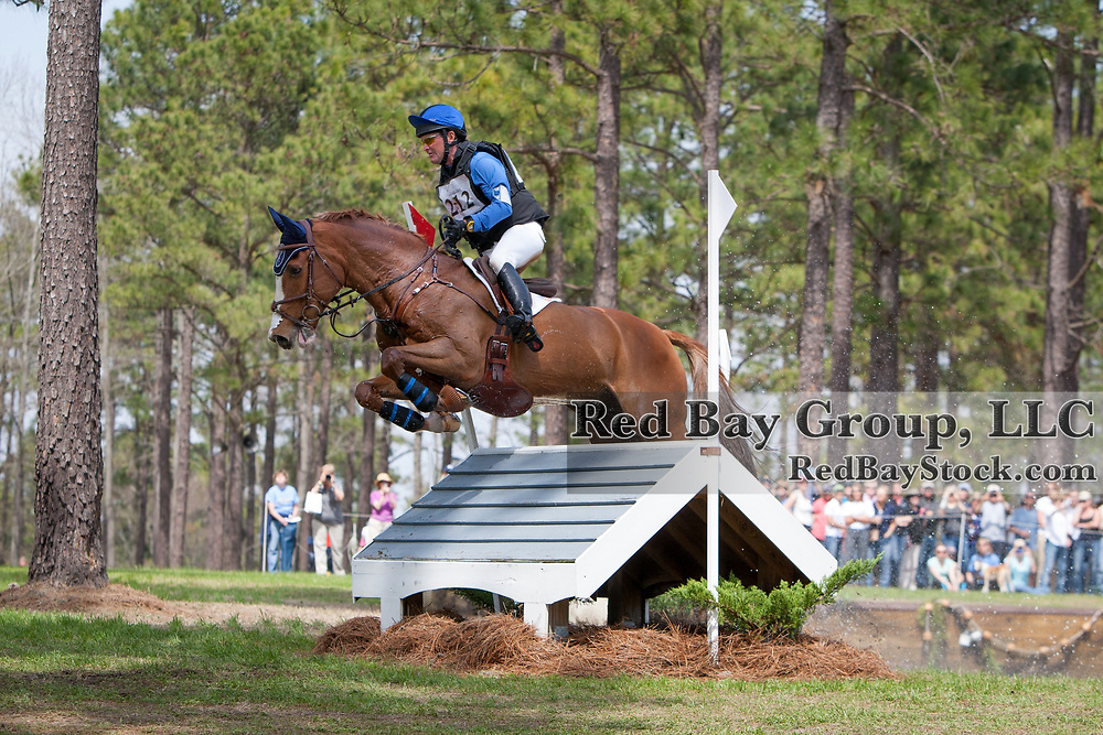 Phillip Dutton (USA) and Mr Medicott at the Carolina International in Raeford, North Carolina.