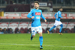 December 16, 2017 - Turin, Piedmont, Italy - Dries Mertens (SSC Napoli) during the Serie A football match between Torino FC and SSC Napoli at Olympic Grande Torino Stadium on 16 December, 2017 in Turin, Italy. SSC Napoli win 3-1 over Torino FC. (Credit Image: © Massimiliano Ferraro/NurPhoto via ZUMA Press)
