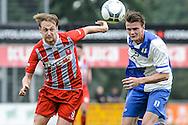 29-05-2016: Voetbal: Elinkwijk v De Zouaven: Utrecht<br /> <br /> (L) Dennis van Tricht van De Zouaven<br /> <br /> Promotie degradatieduel, Seizoen 2015-2016<br /> <br /> De Zouaven verliest het duel met 3-0 en degradeerd hierdoor voor de tweede maal op rij naar de 2e klasse.<br /> <br /> Foto: Gertjan Kooij