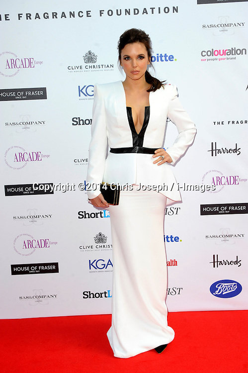 Jodie Albert attends the Fifi awards ceremony, The Brewery, London, United Kingdom. Thursday, 15th May 2014. Picture by Chris Joseph / i-Images