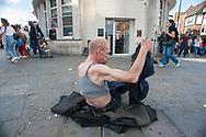 Londra, 13/08/2017: homeless, Camden Town.<br /> © Andrea Sabbadini