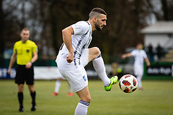 Nino Kouter during football match between NŠ Mura and NK Triglav in 19th Round of Prva liga Telekom Slovenije 2018/19, on December 9, 2018 in Fazanerija, Murska Sobota, Slovenia. Photo by Blaž Weindorfer / Sportida