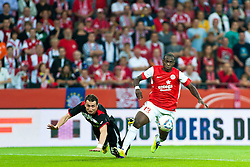 28.07.2011, Coface Arena, Mainz, GER, UEFA Europa League, Mainz 05 vs CS Gaz Metan Medias, im Bild Akaki Khubutia (Gaz Metan #13) im Zweikampf mit  Anthony Ujah// during the GER, UEFA Europa League, Mainz 05 vs CS Gaz Metan Medias on 2011/07/28, Coface Arena, Mainz, Germany. EXPA Pictures © 2011, PhotoCredit: EXPA/ nph/  Roth       ****** out of GER / CRO  / BEL ******