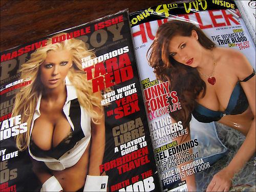 Soft porn magazine for women