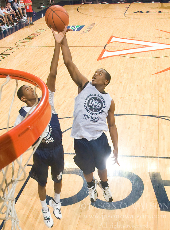 1/2G Trae Golden (Powder Springs, GA / McEachern).  The NBA Player's Association held their annual Top 100 basketball camp at the John Paul Jones Arena on the Grounds of the University of Virginia in Charlottesville, VA on June 19, 2008