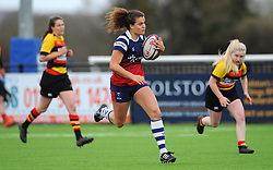 Lucy Atwood of Bristol Bears Women in action - Mandatory by-line: Nizaam Jones/JMP - 23/03/2019 - RUGBY - Shaftesbury Park - Bristol, England - Bristol Bears Women v Richmond Women- Tyrrells Premier 15s